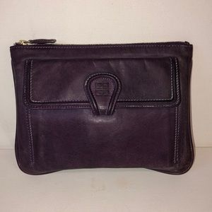 Givenchy purple leather tote